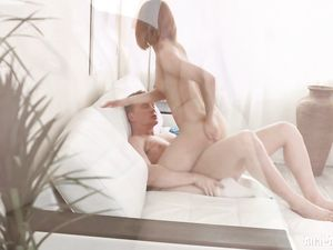 Sweet Redhead Pounded In Her Tight Young Ass