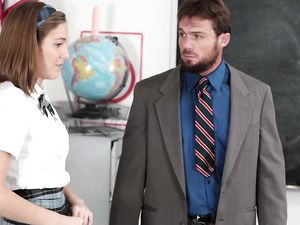 Thick Teacher Dick Fucks A Slutty Schoolgirl