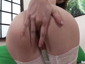 Perky Boobs Teenager Gagging On Dick Before Anal
