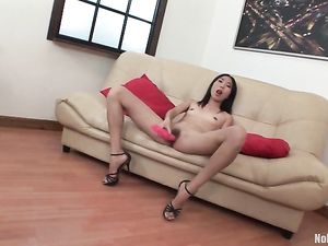 Asian Double Anal Babe Is A True Cock Whore
