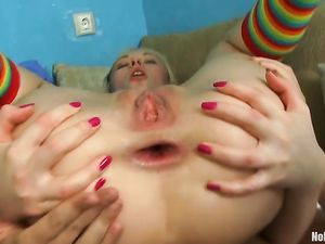 Hard And Deep Anal For A Cute Girl Turned Slutty