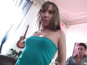 Slut Follows Him Home For A Great Double Penetration