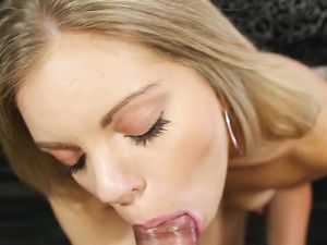 Cumshot On The Stomach Of Trisha Parks