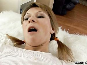 Teen GF Gives Up Her Asshole To His Stiff Dick