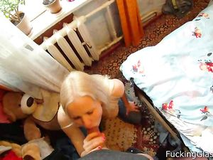 Blown By A Big Breasts Blonde In Hot POV Footage