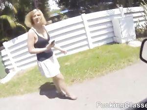 Public Titty Flashing Turns To POV Hardcore Fucking