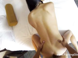 Lingerie Foreplay Before Hardcore POV Sex