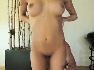 Naughty Oiled Girl Craves That Fat Cock Inside Her