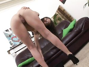Slutty Teen Invites The Guys In To Double Penetrate Her