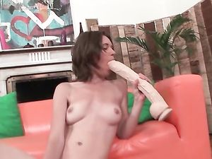 Thick Dildos Fuck The Fresh Cunt Of A Fit Beauty