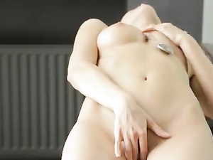 Cute Solo Masturbating Teen Babe Will Make You Hard