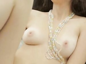 Spectacular Breasts On A Masturbating Girl Next Door