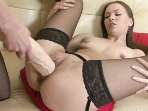 Russian Sluts In Lingerie Fuck Big Strapon Cocks
