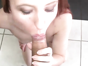 Paying A Teen Redhead To Fuck Her Beautiful Pussy