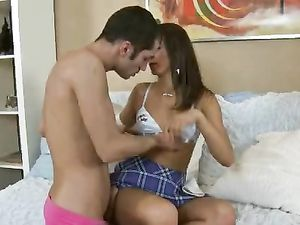 Angel Is Having Fun While Riding A Long Dick