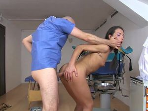 Doctor Needs To Cure Her Huge Sex Appetite