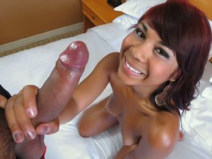 Latina Teen In A Hotel Room Enjoys POV Fucking
