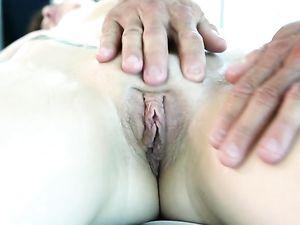 Pleasure Loving Babe Naveen Ora Makes His Cock Cum
