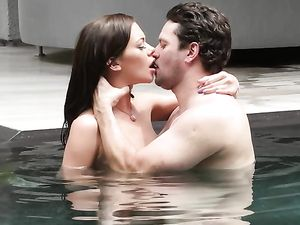 Getting Blown Poolside By Stella Daniels Is Breathtaking