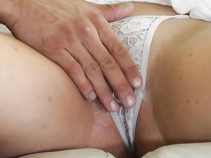 Teasing A Naughty Girl With His Tongue Before Fucking Her