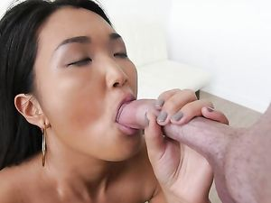 White Cock Sucked On By A Cute Asian Teenager