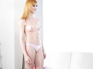Cute Young Redhead Looks Her Best For Porn Casting