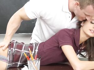 Presley Dawson Is A Lean Hardcore Schoolgirl Fantasy