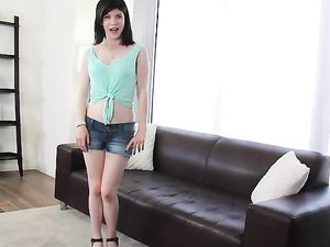 Not So Innocent Teen Gets Filthy For Porn Casting