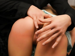 Cutie Caught Masturbating Gets To Enjoy His Big Dick