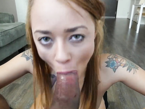 Gorgeous Lips Wrapped Around A Dick For Sexy Sucking