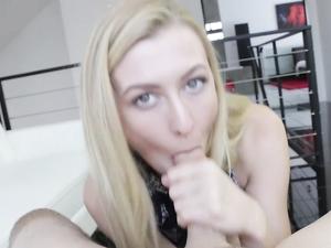 Super Hot Alexa Grace Sucks Cock In Sensual POV