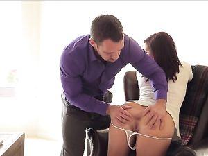 Tit Flashing Keisha Grey Fucks Her Horny Coworker